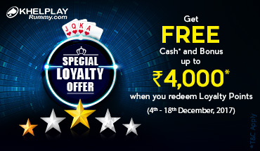 rummy loyalty offer
