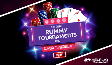 Best Online Rummy Tournaments from Sunday to Saturday
