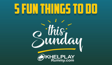 5 Fun Things to do this Sunday